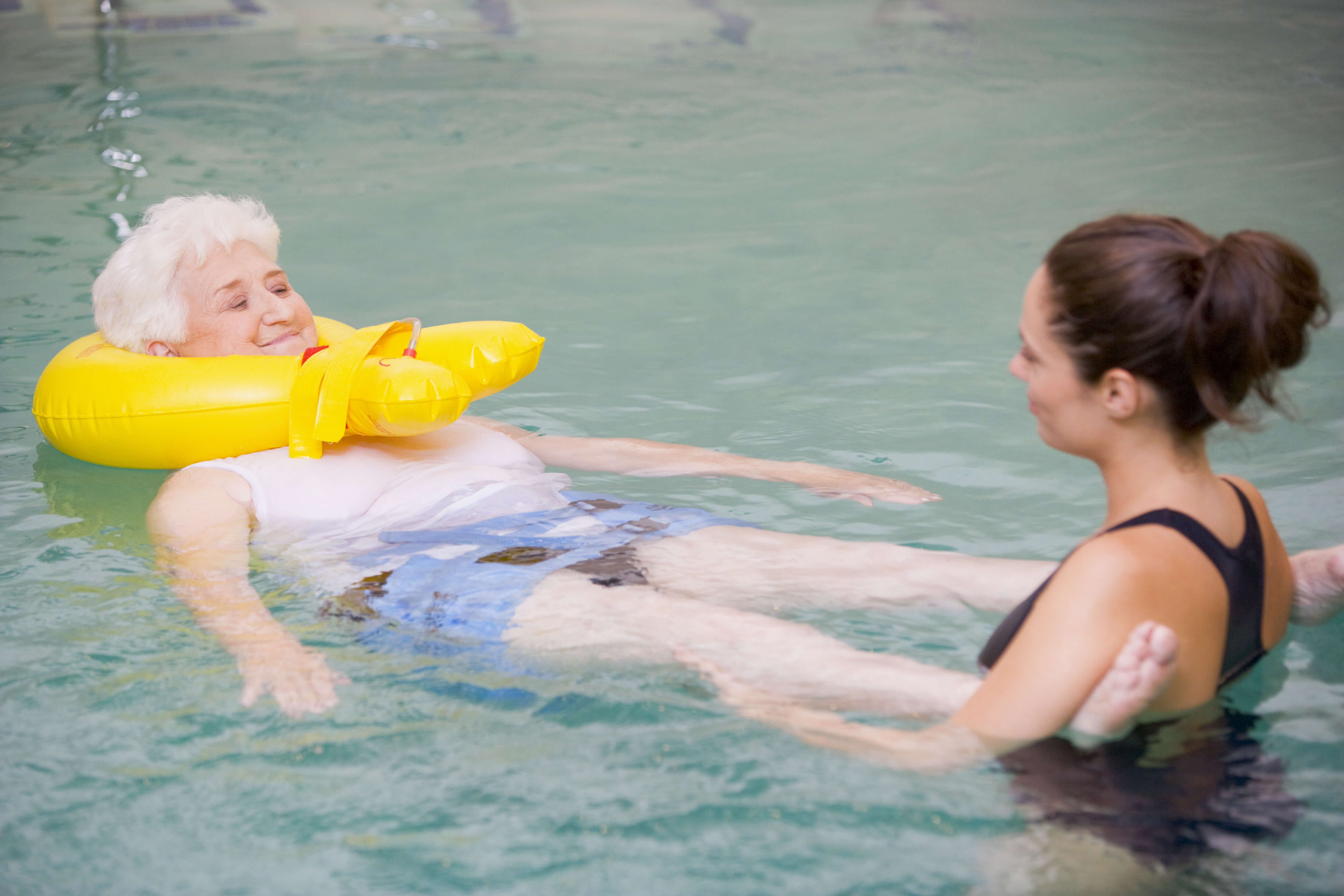 Aquatic Therapy Exercise